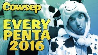 乳牛神易 Cowsep - 2016全PENTA紀錄