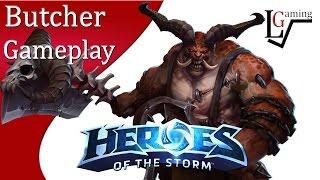 getlinkyoutube.com-Heroes of the Storm - Butcher Gameplay on Battlefield of Eternity (Mayhem Begins)