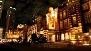 getlinkyoutube.com-4K 画質 東京駅イルミネーション微速度撮影(Tokyo Station illumination & TimeLapse)[4K]