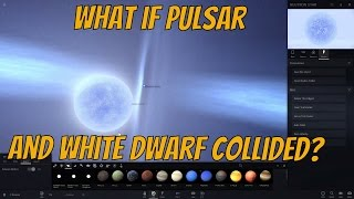 getlinkyoutube.com-What if Neutron Star Collided with White Dwarf? Universe Sandbox²