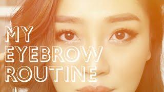 getlinkyoutube.com-My Eyebrow Routine