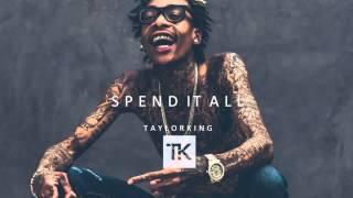 """getlinkyoutube.com-Wiz Khalifa ft. Juicy J - """"Spend It All"""" Type Beat 2015"""