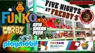 getlinkyoutube.com-2016 Funko FNaF Five Nights at Freddys PROTOTYPE figs + DORBZ, PLAYMOBIL & PLUSHIES