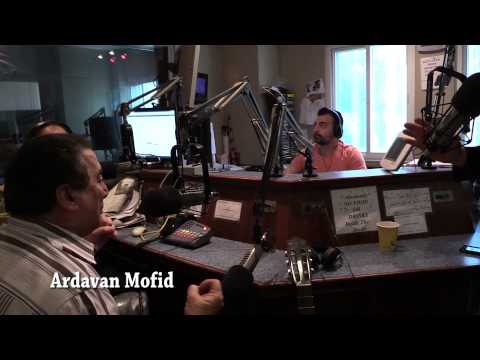 Ardavan Mofid and Ahad Aghasi Live at KIRN 670am Studio