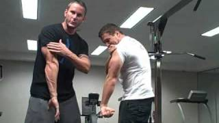 getlinkyoutube.com-Crazy Tricep Workout-Get Horseshoe Triceps in No Time!