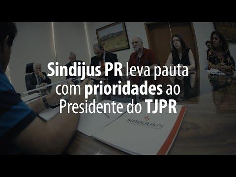 Confira os temas abordados durante a reunião com o Presidente do TJPR
