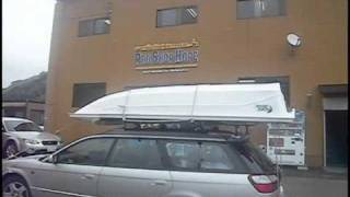 getlinkyoutube.com-釣り用2馬力ボート ホープ社のドルフィン 購入引取り風景 Hope Dorphin