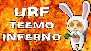 getlinkyoutube.com-URF 2016 TEEMO Shroom Inferno ! LOL German Deutsch Gameplay S6 Patch 6.7