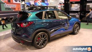 getlinkyoutube.com-Mazda Concept Vehicles at SEMA - Miata Super25 & Special Edition CX-5's