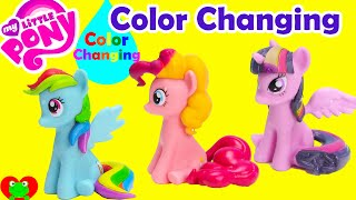 getlinkyoutube.com-My Little Pony Color Changing Magic Bath Figures