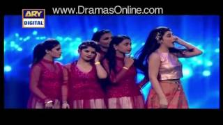 getlinkyoutube.com-14th Lux Style Awards 2015 dance performance Ayesha Omar hd video full item dance |