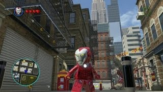getlinkyoutube.com-LEGO Marvel Super Heroes - Unlocking Pepper Potts & Rescue + Gameplay