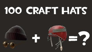 getlinkyoutube.com-Team Fortress 2 - Crafting 100 hats