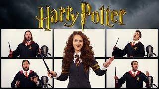HARRY POTTER THEME SONG ACAPELLA (Ft. Rosanna Pansino)