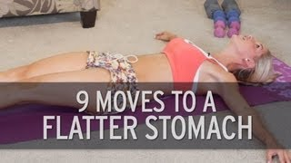 getlinkyoutube.com-9 Exercises For A Flat Stomach
