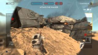 getlinkyoutube.com-Star Wars BATTLEFRONT DIORAMA Shadow Trooper How too Unlock