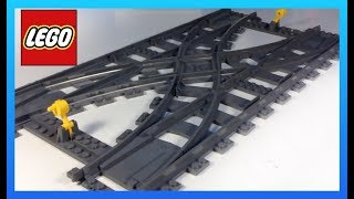 getlinkyoutube.com-LEGO City Train 7996 Double Crossover Switch Track - Why so much?