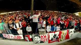 Ultras Fanatic Reds : Ambiance du match CRB vs JSS