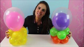 getlinkyoutube.com-Centro de Mesa de Balões para Festa Infantil | Fácil