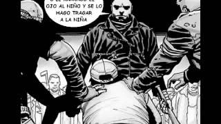 getlinkyoutube.com-Muerte de Glenn - The Walking Dead (comic español)
