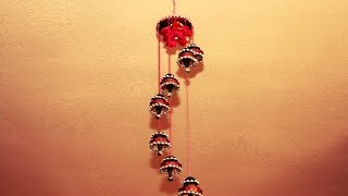 Recycled: Wind Chime made out of waste cardboard