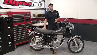 getlinkyoutube.com-Power Commander 5 Install: 2015 Yamaha SR400