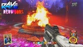 getlinkyoutube.com-RAVE IN THE REDWOODS - NO BOWS!!! TWO BOX EASTER EGG CHALLENGE GAMEPLAY! (INFINITE WARFARE ZOMBIES)