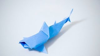 getlinkyoutube.com-【折紙(origami)】ジンベエザメ Whale shark