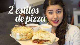 getlinkyoutube.com-PIZZA CALZONE Y BITES | COMO HACER PIZZA RECETA MUSAS LOS POLINESIOS