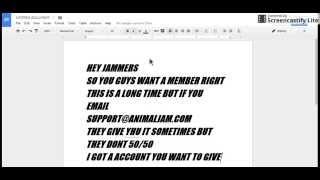 getlinkyoutube.com-Free animal jam membership accounts