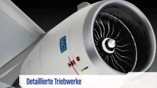 getlinkyoutube.com-Airbus A350-900 Plane (Scale Model Plane by Revell) - ToySeek