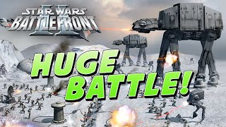 getlinkyoutube.com-Star Wars Battlefront 2: HUGE Battle of HOTH!! & Battlefront 3 Commentary - 60 FPS