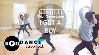 "Girls' Generation ""I Got A Boy"" Dance Tutorial (Pre-chorus, Chorus)"