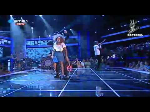 "Buraka Som Sistema – ""Parede"" – Gala Solidária - The Voice Portugal"
