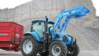 getlinkyoutube.com-Field test: Landini C6-130C tractor