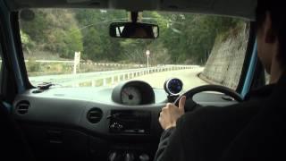 getlinkyoutube.com-2013年3月 エッセ D 5MT ライトチューン後の峠ドライブ
