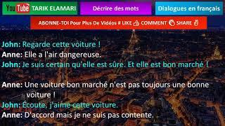 Dialogue en français Niveau A1 35 french conversation Décrire des mots