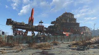 getlinkyoutube.com-Fallout 4 Mega Base at Red Rocket Truckstop