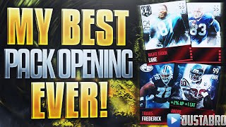 MY BEST MADDEN MOBILE 16 Pack Opening EVER!