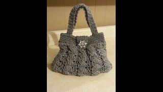 CROCHET How to: Crochet (ARABEL STITCH PURSE) #TUTORIAl #100 LEARN CROCHET