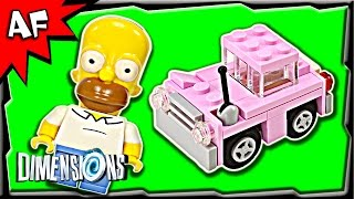 getlinkyoutube.com-Lego Dimensions SIMPSONS Level Pack 3-in-1 Build Review 71202