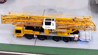 getlinkyoutube.com-Awesome RC Liebherr MK80 Tallest Mobile Crane