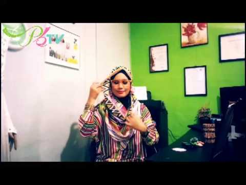 Tutorial Tente Tribal Shawl - Puteh Boutique
