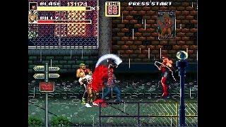 OpenBoR games: Streets of Rage Z 2 - Russian Blaze Fielding playthrough