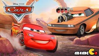 getlinkyoutube.com-Disney Cars Fast as Lightning McQueen - New Character SnotRod Unlocked - Disney Pixar Cars