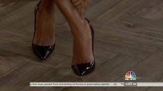 getlinkyoutube.com-Tamron Hall in high heels and closeups - 5-Mar-2015