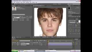 getlinkyoutube.com-Adobe After Effects CS4 Tutorial. Face Morph - Justin Bieber to William Hung