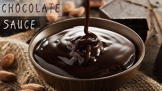 كيفية عمل صوص شيكولاتة كمحترف في 5 دقائق -How to make chocolate syrup (sauce) as a Pro in 5minutes