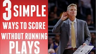 "NBA 2K16 Tips - 3 Simple ""EFFECTIVE"" Ways To Score"
