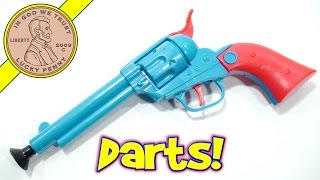 getlinkyoutube.com-Bottle Buster Western Dart Gun Set - Shoot 'Em Up Partner!